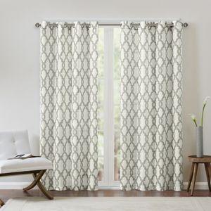 🆕️ Madison Park Bond Fretwork Window Curtains